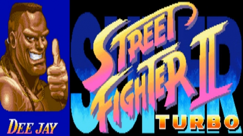 Super Street Fighter 2  New Challengers/Turbo - Dee Jay's Theme Arcade