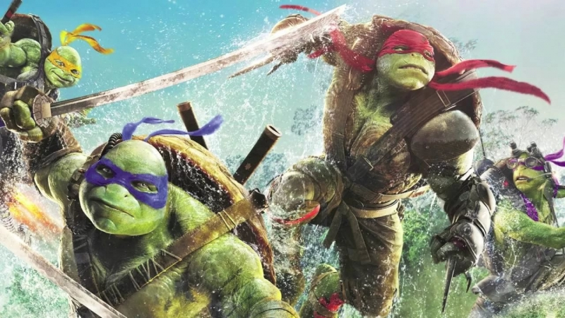 "Teenage Mutant Ninja Turtles Out of The Shadows 2016 - OST Credits Song ""Turtle Power"""