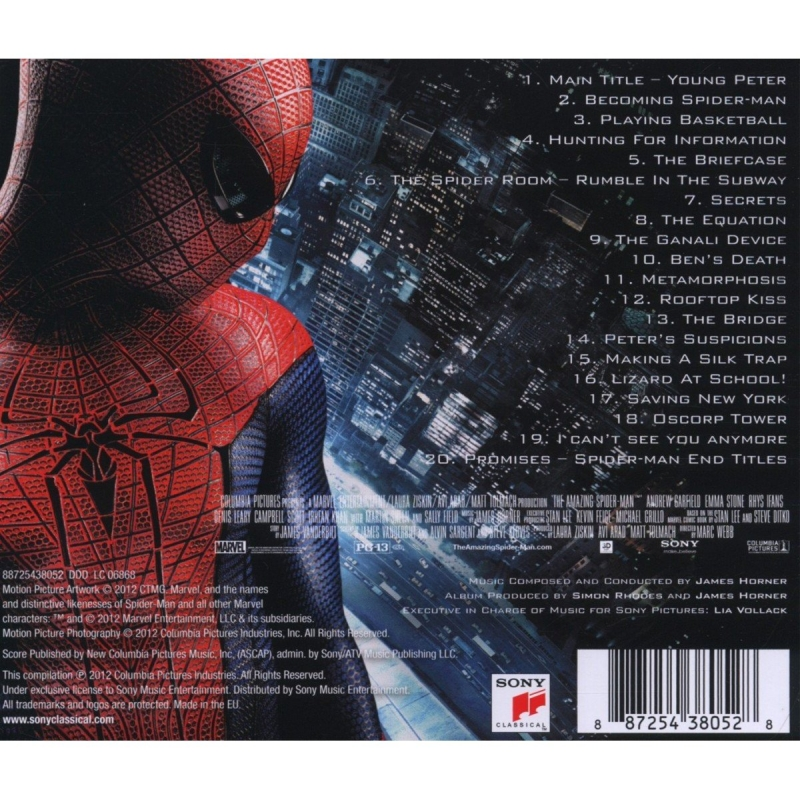 The Amazing Spider-Man 2 - Trailer№2,4,5 OST