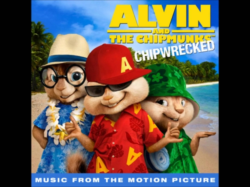 The Chipmunks & The Chipettes - Party Rock Anthem Элвин и Бурундуки 3