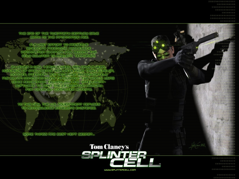 Tom Clancy's Splinter Cell 2002 - Main Menu Theme