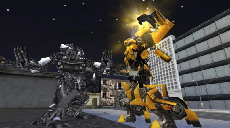 Transformers The Game - City Autobots