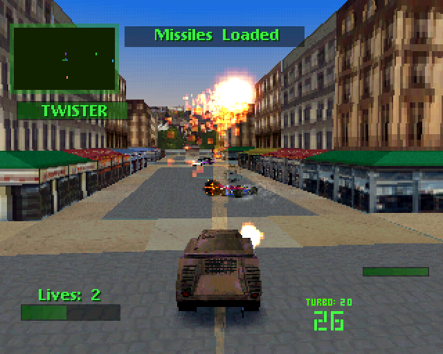 Twisted Metal 2 - Moscow