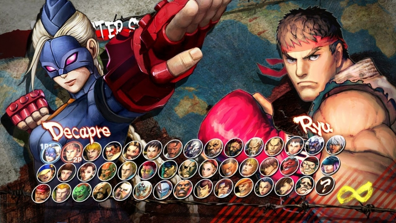 Ultra Street Fighter 4 - Character Select Theme