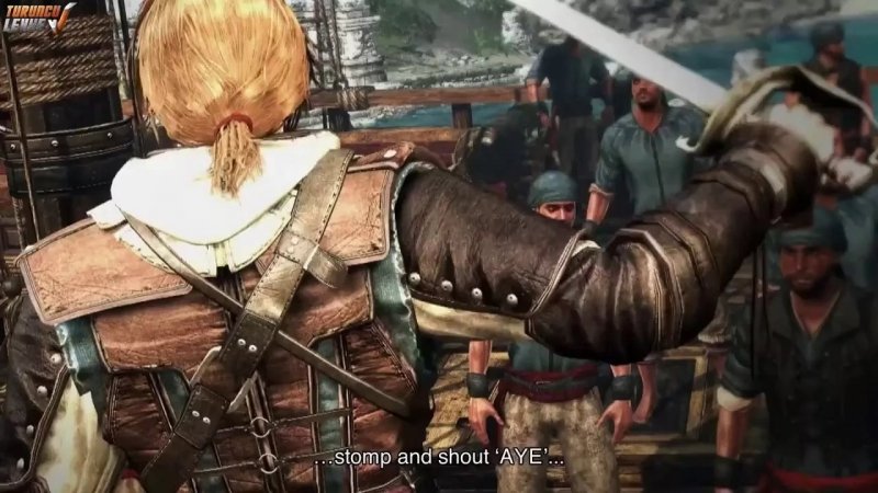 Assassins Creed 4 Black Flag The Pirate Heist Trailer - Bez nosaukuma
