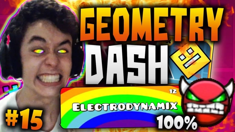 Geometry Dash - Electrodynamix Mix