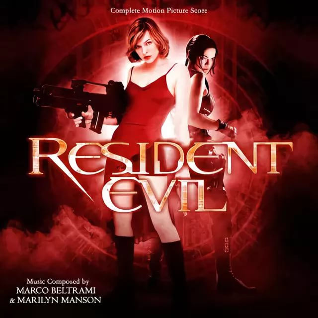 Marylin Manson - Resident Evil  Main Title Theme