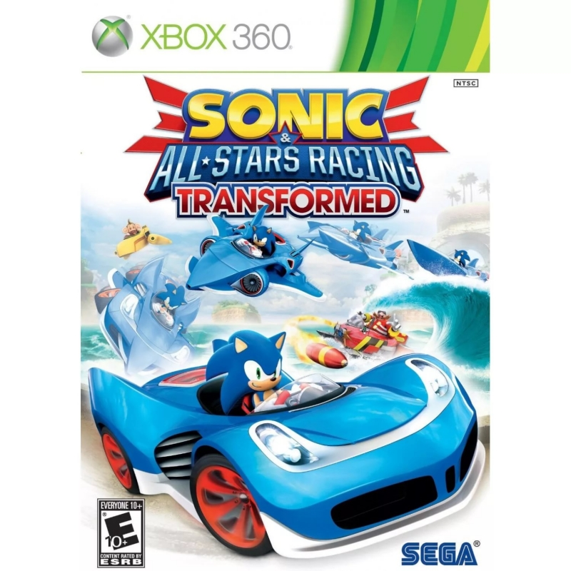 Sonic and Sega All-stars Racing - Knuckles All-stars Move