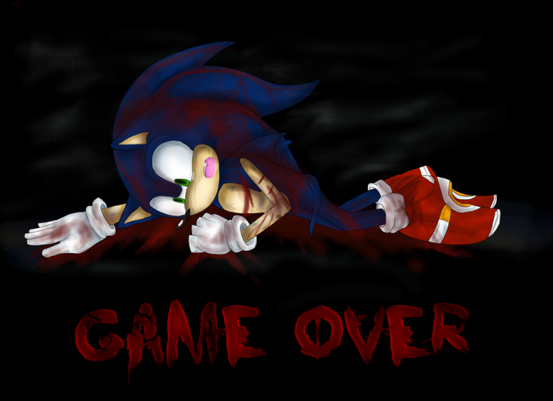 Sonic.exe - Game Over